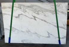 Fourniture dalles polies 2 cm en marbre naturel CALACATTA WAVE 1451. Détail image photos