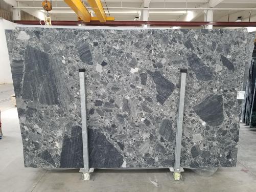 Fourniture dalles polies 2 cm en marbre naturel CEPPO SCURO 1673. Détail image photos