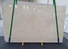 Fourniture dalles brillantes 2 cm en marbre naturel CREMA MARFIL 1268. Détail image photos