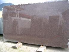 Fourniture dalles brillantes 2 cm en granit naturel DAKOTA MAHOGANY EDM25114. Détail image photos