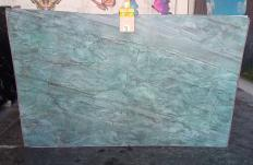 Fourniture dalles brillantes 2 cm en quartzite naturel EMERALD GREEN Z0209. Détail image photos