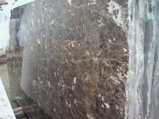 Fourniture dalles brillantes 2 cm en marbre naturel EMPERADOR OSCURO E-O502. Détail image photos