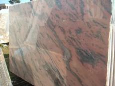 Fourniture dalles brillantes 2 cm en marbre naturel ETOWAA PINK EM_0224. Détail image photos