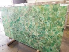 Fourniture dalles brillantes 2 cm en pierre semi précieuse naturelle FLOURITE FLT. Détail image photos