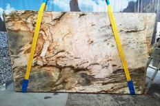 Fourniture dalles brillantes 2 cm en quartzite naturel FUSION MISTIC U0113. Détail image photos