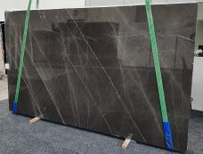 Fourniture dalles brillantes 3 cm en marbre naturel GRAFFITE 1324. Détail image photos