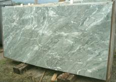 Fourniture dalles brillantes 2 cm en marbre naturel GREEN ANTIGUA E_S329. Détail image photos