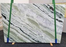Fourniture dalles brillantes 2 cm en marbre naturel GREEN BEAUTY 1452. Détail image photos
