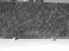 Fourniture dalles brillantes 2 cm en marbre naturel GRIGIO CARNICO SRC3412. Détail image photos