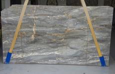 Fourniture dalles brillantes 2 cm en marbre naturel Grigio Siena U0110. Détail image photos
