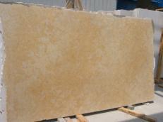 Fourniture dalles polies 2 cm en calcaire naturel JERUSALEM GOLD DARK JS3632 J_07064. Détail image photos