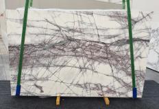 Fourniture dalles brillantes 2 cm en marbre naturel LILAC 1260. Détail image photos