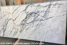 Fourniture dalles polies 2 cm en marbre naturel LILAC AA T0035. Détail image photos