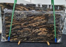 Fourniture dalles brillantes 3 cm en granit naturel MAGMA 1391. Détail image photos