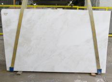 Fourniture dalles brillantes 3 cm en marbre naturel MYSTERY WHITE 24915. Détail image photos
