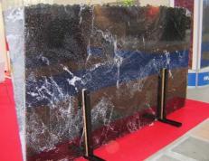 Fourniture dalles brillantes 2 cm en granit naturel NORDIC SUNSET E_S3262. Détail image photos