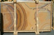 Fourniture dalles brillantes 2 cm en onyx naturel ONICE ARCOIRIS E-14216/B. Détail image photos