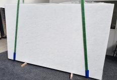 Fourniture dalles brillantes 2 cm en marbre naturel OPAL WHITE 1375. Détail image photos