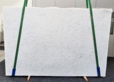 Fourniture dalles brillantes 3 cm en marbre naturel OPAL WHITE 1382. Détail image photos