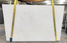 Fourniture dalles brillantes 2 cm en marbre naturel OPAL WHITE 1704M. Détail image photos