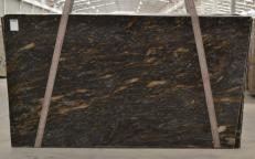 Fourniture dalles brillantes 2 cm en granit naturel ORION BQ02089. Détail image photos