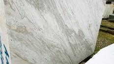 Fourniture blocs sciés au diamant 124 cm en Dolomie naturelle palissandro classico Z0168. Détail image photos