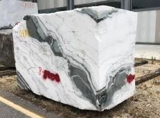 Fourniture blocs bruts 33 cm en marbre naturel PANDA 1517M. Détail image photos