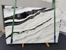 Fourniture dalles brillantes 2 cm en marbre naturel PANDA 1335. Détail image photos