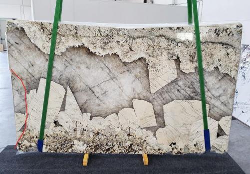 Fourniture dalles brillantes 2 cm en granit naturel PATAGONIA 1279. Détail image photos