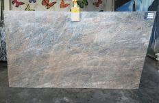 Fourniture dalles polies 2 cm en quartzite naturel QUARZITE CIELO T0343. Détail image photos