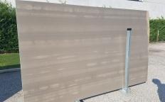 Fourniture dalles polies 2 cm en marbre naturel RIVER GREY ZL0091. Détail image photos