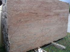 Fourniture dalles brillantes 2 cm en granit naturel ROSEWOOD EDM25112. Détail image photos