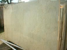 Fourniture dalles brillantes 2 cm en marbre naturel SAHARA GOLD EM_375. Détail image photos