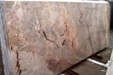 Fourniture dalles brillantes 2 cm en marbre naturel SARRANCOLIN IM002027. Détail image photos