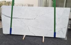 Fourniture dalles brillantes 2 cm en marbre naturel STATUARIETTO 1290. Détail image photos