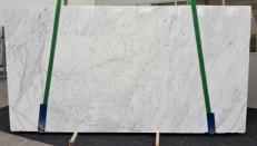 Fourniture dalles brillantes 2 cm en marbre naturel STATUARIETTO GL 980. Détail image photos