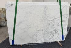 Fourniture dalles brillantes 2 cm en marbre naturel STATUARIO CLASSICO 1278. Détail image photos
