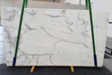 Fourniture dalles polies 2 cm en marbre naturel STATUARIO EXTRA 1288. Détail image photos