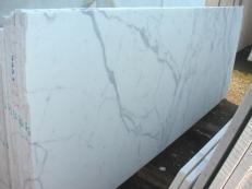 Fourniture dalles brillantes 2 cm en marbre naturel STATUARIO VENATO E-1203. Détail image photos