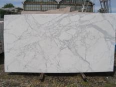 Fourniture dalles brillantes 2 cm en marbre naturel STATUARIO VENATO E-8074. Détail image photos