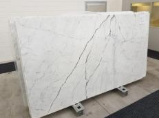 Fourniture dalles brillantes 2 cm en marbre naturel STATUARIO VENATO GL 1109. Détail image photos