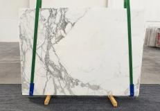 Fourniture dalles brillantes 2 cm en marbre naturel STATUARIO VENATO 1225. Détail image photos