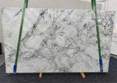 Fourniture dalles brillantes 2 cm en Dolomie naturelle SUPER WHITE 1333. Détail image photos
