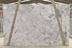 Fourniture dalles brillantes 3 cm en Dolomie naturelle SUPER WHITE 2481. Détail image photos
