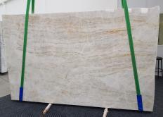 Fourniture dalles polies 2 cm en quartzite naturel TAJ MAHAL 1164. Détail image photos