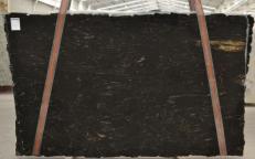 Fourniture dalles brillantes 3 cm en granit naturel TITANIUM BQ01198. Détail image photos