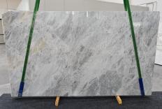 Fourniture dalles brillantes 2 cm en marbre naturel TRAMBISERA 1293. Détail image photos