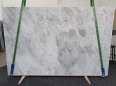 Fourniture dalles brillantes 2 cm en marbre naturel TRAMBISERA 12931. Détail image photos