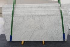 Fourniture dalles polies 2 cm en marbre naturel VENATINO BIANCO 1256. Détail image photos