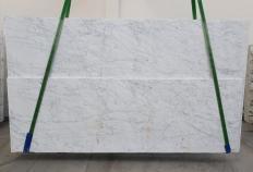 Fourniture dalles sciées 3 cm en marbre naturel VENATINO BIANCO 1299. Détail image photos